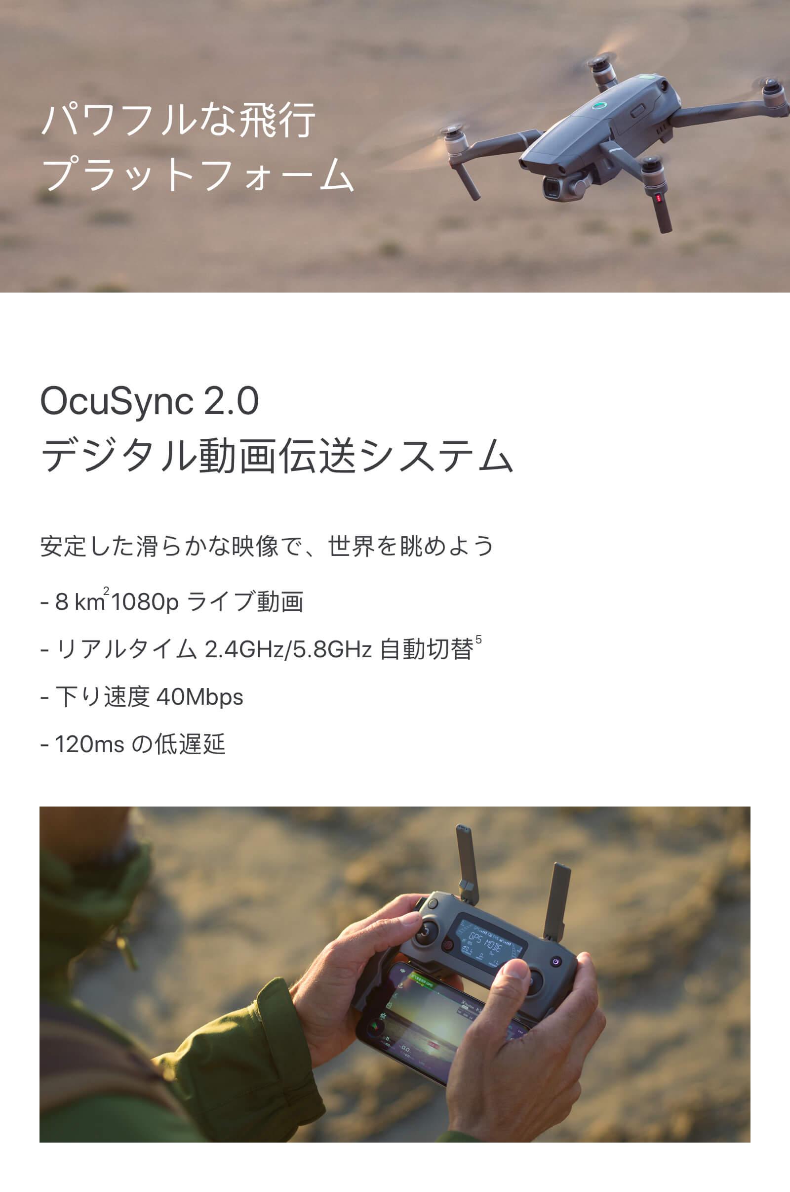 OcuSync2.0デジタル動画伝送システム