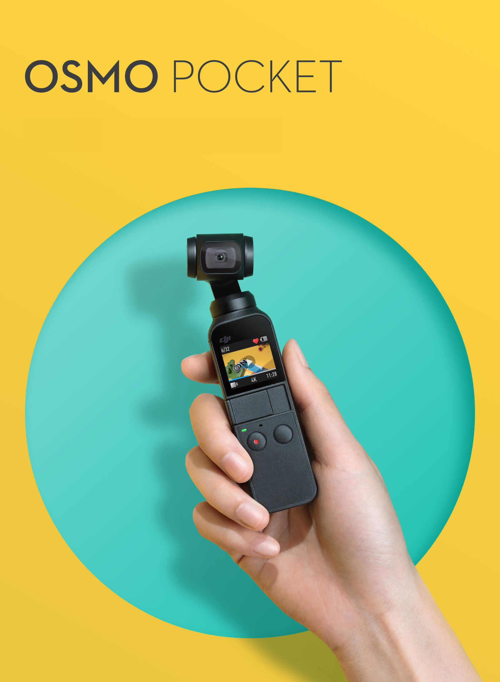 DJI Osmo Pocketの紹介